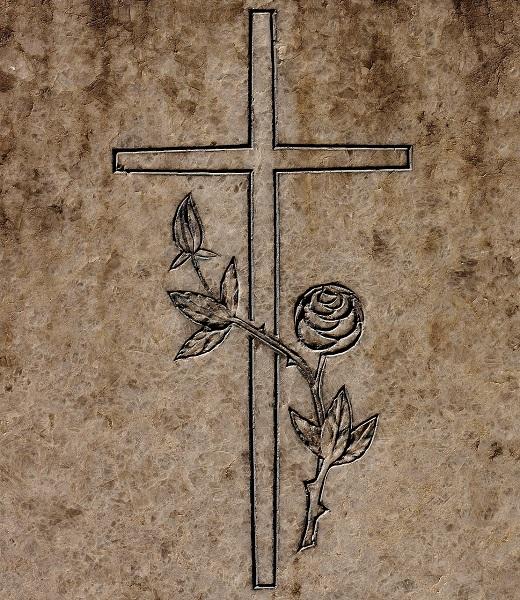 Nagrobniki - križ